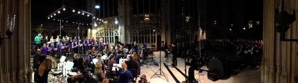Recording Saint Nicolas